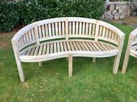 5ft Quality Wooden Garden Bench (1 of 2)