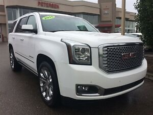 2015 GMC Yukon Denali| Sun| Nav| DVD| H/C Leath| Pwr Steps|
