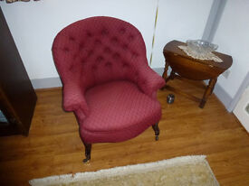 Recently Re-Upholstered Chair