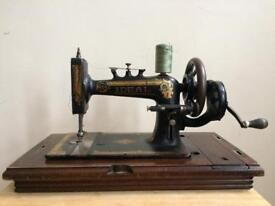 Vintage Ideal 'The New Home S.M. Co Orange Mass USA' Sewing Machine