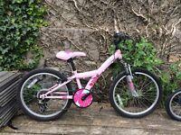 Pink bike, suit age 6-8 BARGAIN £10