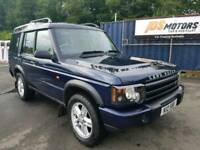 Land Rover Discovery TD5 XS, 2003, 7 Seater, 12 months MOT, FSH,