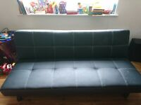 Black Sofa Bed - £30