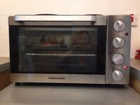 Morphy Richards KWS1128HQ-F2UC Convection Mini Oven - Silver - 1000W