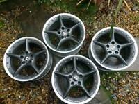 "Bmw z4 18"" bbs wheels"