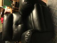 Leather recliner brand new