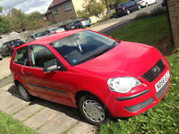 Volkswagen Polo 2006 1.2 Low milage!Full services history Bargain!