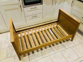 Mamas and Papas Newhampton Solid Oak Junior Bed