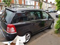Vauxhall zafira 2008