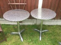 Catering Stainless Steel Tables