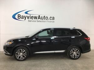 2018 Mitsubishi Outlander ES - AWC! 7PASS! SUNROOF! LEATHER!...