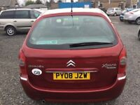 2008 CITROEN XSARA PICASSO—MARCH 2019 MOT—3 MONTHS WARRANTY