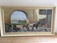 Original art work / oil painting x2