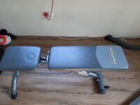 Reclinable bench