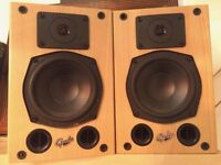 Gale Gold Monitor Mk2 bi-wirable bookshelf speakers