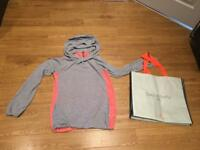 Gorgeous Sweaty Betty hoodie (angora & cotton)