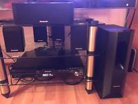 Sell used Panasonic SC PT450EB-K home theatre system 5.1/1000w