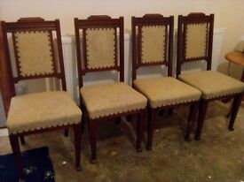 4 Oak Chairs*****REDUCED*****