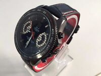 new TAG HEUER grand carrera automatic watch with Open work back