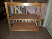 Mothercard Pine Changing Table / Unit / Station