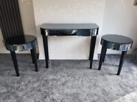 NEXT dressing table and 2 bedside tables