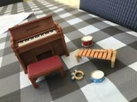 Vintage Sylvanian Families Musical Instrument Set