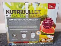 Nutribullet kit, blender, tall cup and small cup
