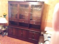 Rossmore Large wall unit in mahogany