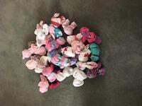 Bundle girls socks 6months -12months