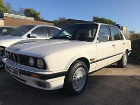 BMW 320i E30, Alpina White