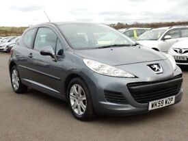 2010 peugeot 207 1.4 petrol s low miles, motd april 2019 all cards welcome