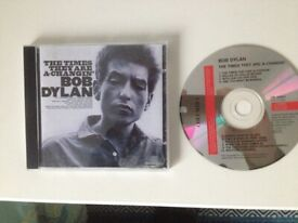 Bob Dylan – The Times They are a Changin' (1964). Very good condition.