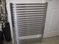 For sale chrome central heating Rad in good order see photo also other normal central
