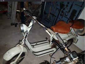 Lambretta scooter model d 125