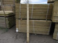 Timber feather edge boarding 2.4m