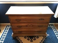 Chest of drawers - perfect for an upcycling project