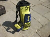 Junior Golf Carry/Stand Bag with Clubs.