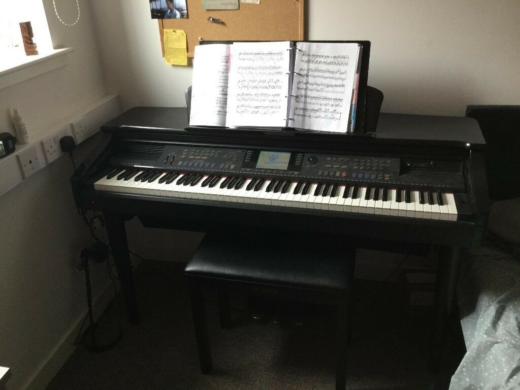 for sale lovely digital piano yamaha clavinova cvp 107 in glasgow city centre glasgow gumtree. Black Bedroom Furniture Sets. Home Design Ideas