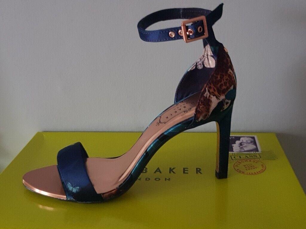 3df5f5ed0e Womens Ted Baker Ulaniip Navy Wedding/Prom Shoe Brand New in Box