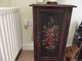 Lovely decorated pot cupboard