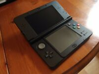 Black nintendo 3DS XL