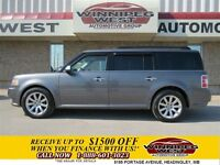 2009 Ford Flex Sterling Grey Limited Edition 4x4, DVD, Panoramic
