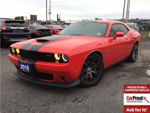 2016 Dodge Challenger SRT 392**LEATHER**NAV**SUNROOF**BACK UP CA