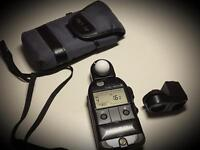 Minolta flashmeter v with 5 degree spot attachment
