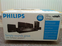 Philips HTS3011 Home theater system 200 Watts, very good condition. £30