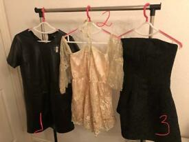 Clothes new, used once and tried