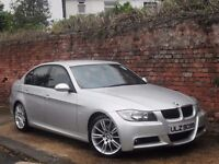 2007 BMW 330D M SPORT AUTO/TIP!!!2 OWNERS,FSH,LEATHER!!!