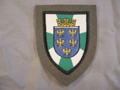 Österreich Verbandsabzeichen Militärkommando Niederösterreich Armabzeichen Stoff
