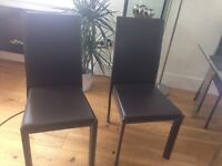 6x Dining chairs used
