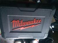 Milwaukee M12 pipe expander